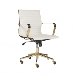 jessica office chair white