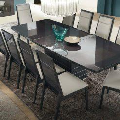 versilia rectangular dining table liveshot