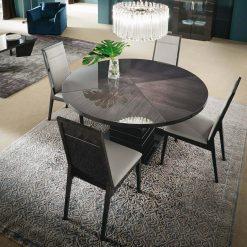versilia round dining table liveshot