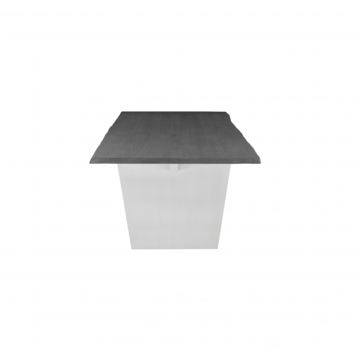 AIDEN DINING TABLE  OXIDIZED GREY SIDE 1