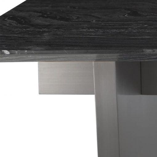 aiden black marble and dark stainless steel liveshot