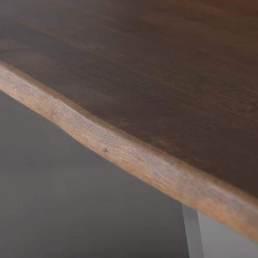 aiden seared oak and dark stainless steel liveshot