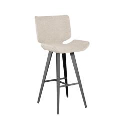 astra bar stool shell fabric