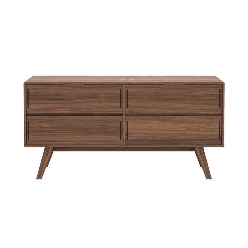 bedroom haru dresser walnut