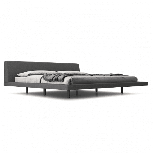 bedroom jane cal Luna carbon grey