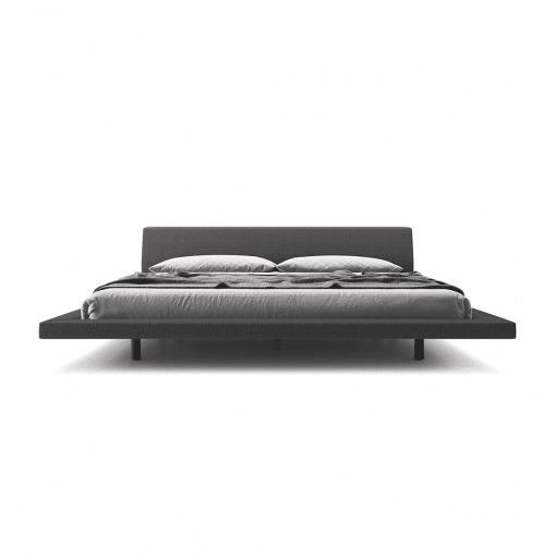 bedroom jane cal Luna carbon grey front