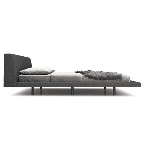 bedroom jane cal Luna carbon grey side