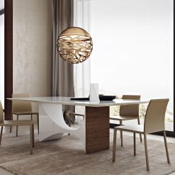 camden dining table white lifestyle