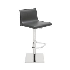 colter hydraulic stool dark grey