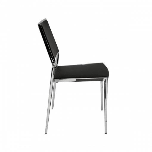 dining room aaron chair black 002