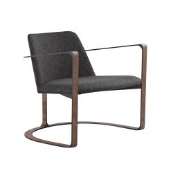 vesey lounge chair dark shadow