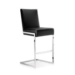 abby bar stool black