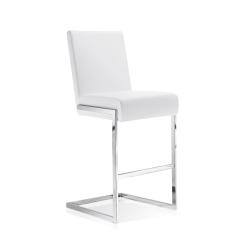 abby bar stool white