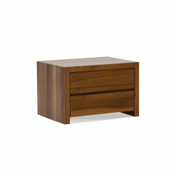 bedroom blanche 2 drawer night stand wood