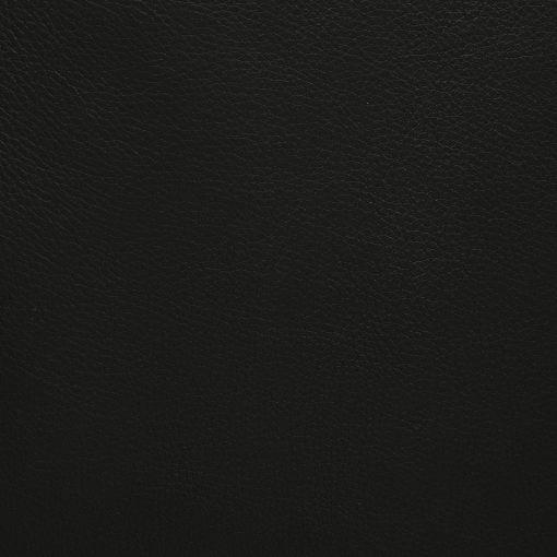 black leatherette