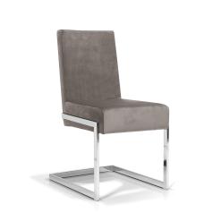 dining room abby chair dove grey velvet