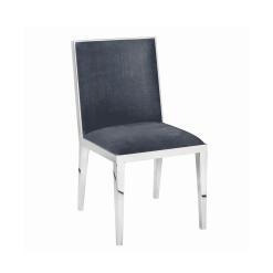 dining room valor chair charcoal velvet