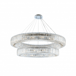 lighting rondelle 47 inch 2 tier pendant