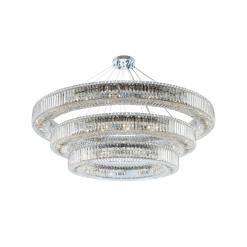 lighting rondelle 60 inch 3 tier pendant