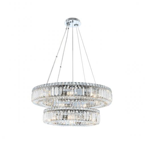 lighting rondelle 26 inch 2 tier pendant