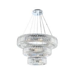 lighting rondelle 26 inch 3 tier pendant