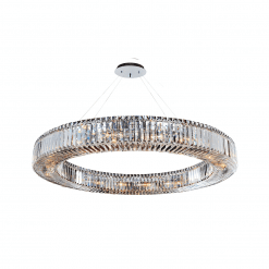 lighting rondelle 47 inch round pendant
