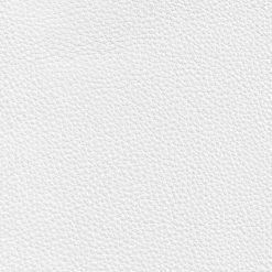 white leatherette