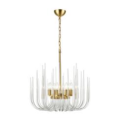Astoria 8 Light Chandelier Polished Brass