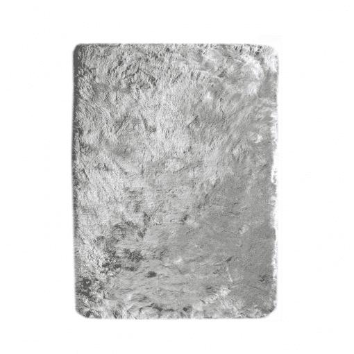 accessories newsilky rug light grey