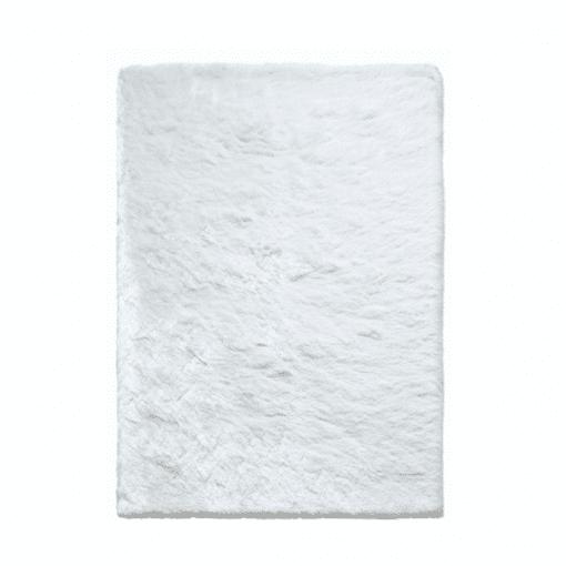 accessories newsilky rug white