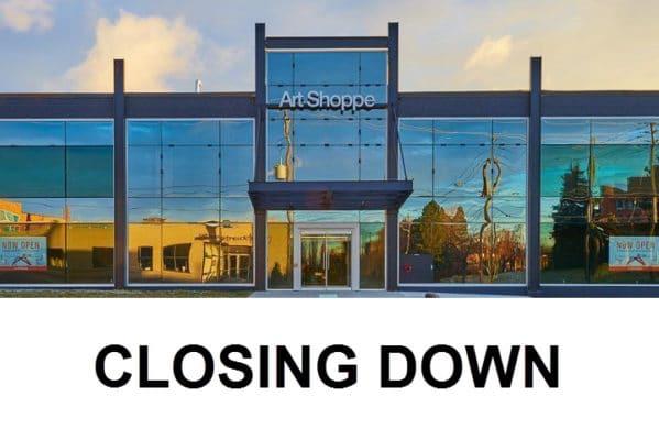 art shoppe closing down