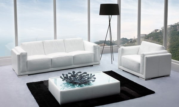 leather sofa modern sense furniture