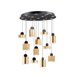 lighting 12 light nob pendant