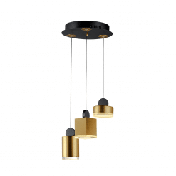 lighting 3 light nob pendant