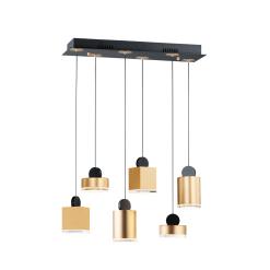 lighting 6 light nob pendant