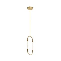 lighting delsey 1 light pendant gold