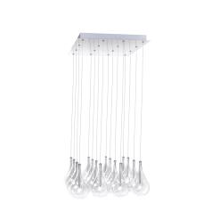 lighting larmes 16 light pendant