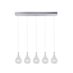 lighting larmes 5 light pendant