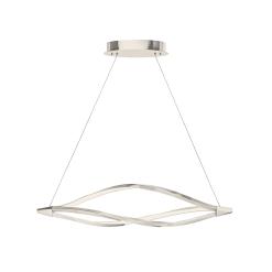 lighting meridian 43 inch pendant nickel
