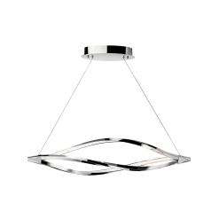 lighting meridian 43 inch pendant chrome