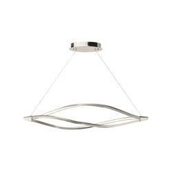 lighting meridian 53 inch pendant nickel