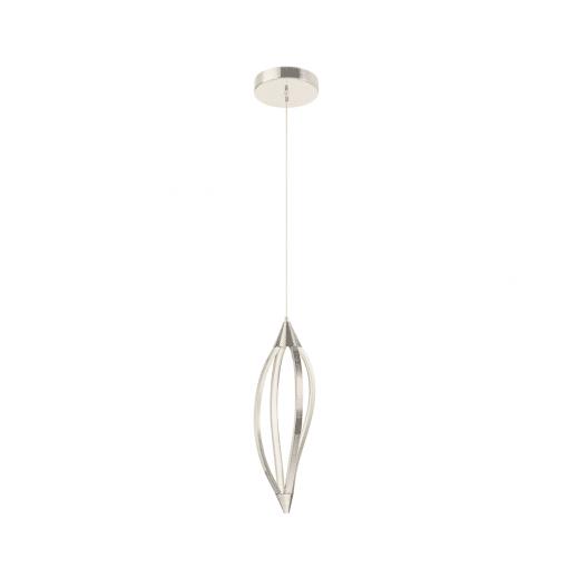 lighting meridian 7 inch pendant nickel