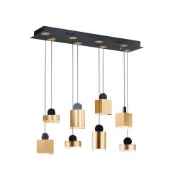 lighting nob 8 light pendant