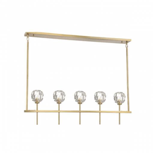 lighting parisian 5 light chandelier