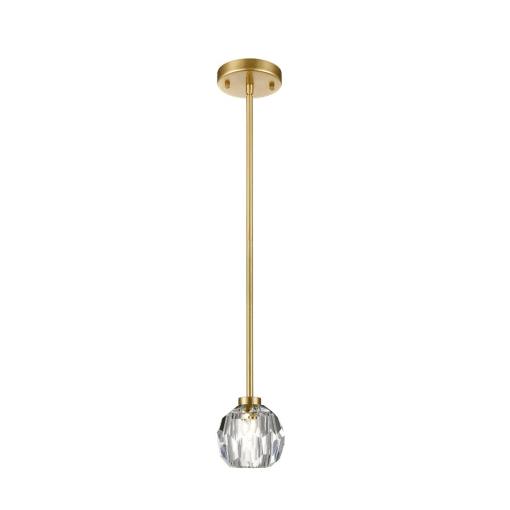 lighting parisian mini pendant gold