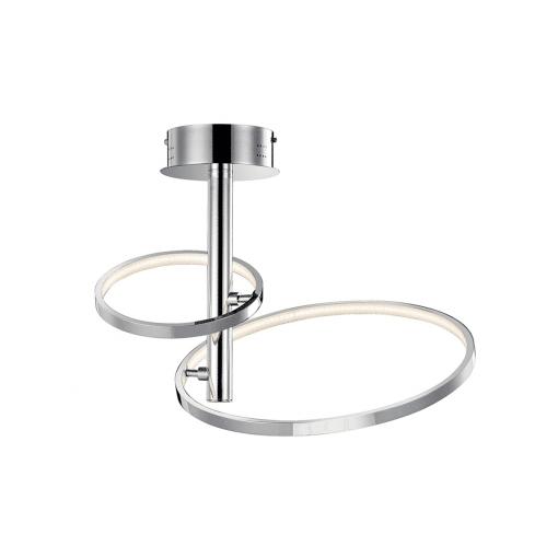 lighting sirkus 2 ring flush mount