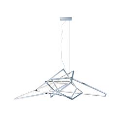 lighting trapezoid 65 inch pendant