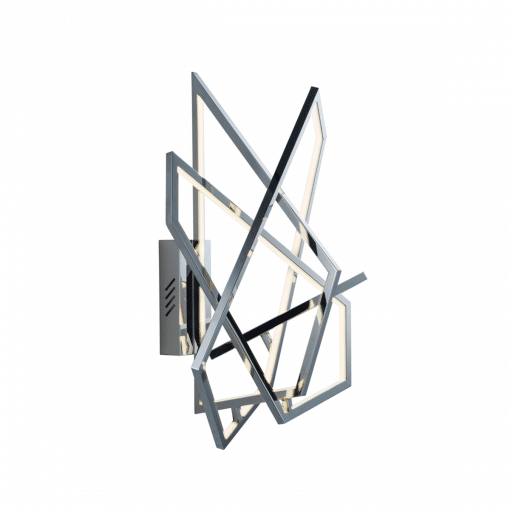 lighting trapezoid wall sconce