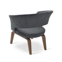 Ada Accent Chair Wood 002