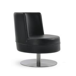 Hilton Swivel Round Accent Chair 001